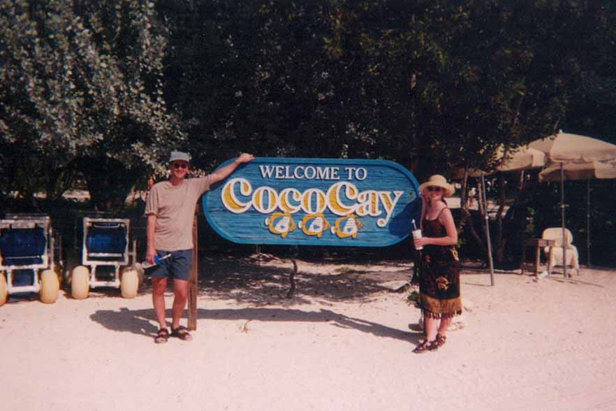 Royal Carribbean's private island, Cococay