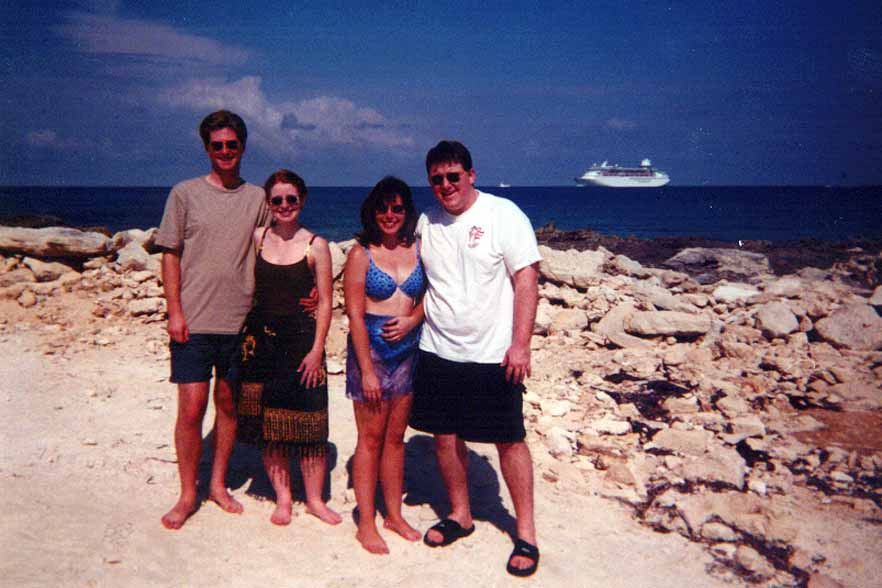 McCurrys and Schoenherrs on Cococay
