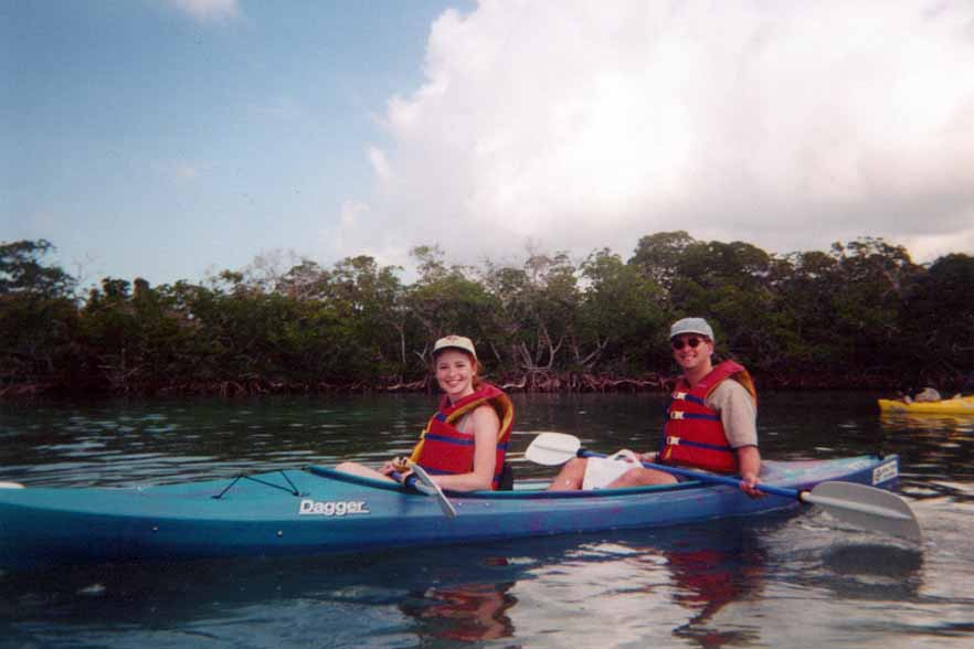 Kayaking in Key West